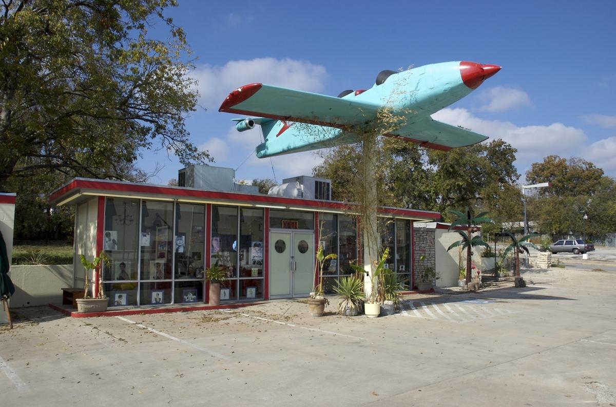 Repurposed gasoline station