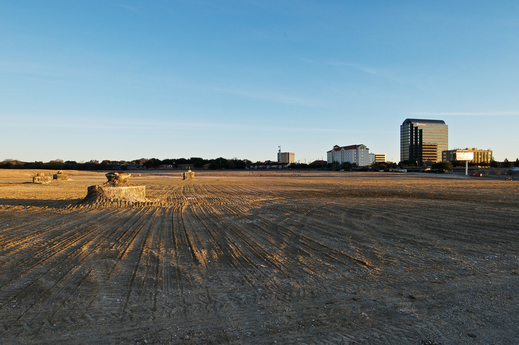 Site for future construction, 42 acres at the corner of North Central Expressway
