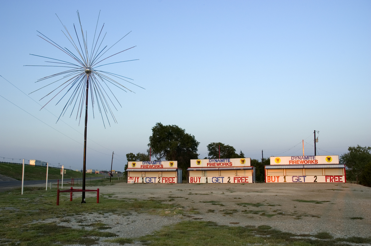 Fireworks Stand, I30, East Texas