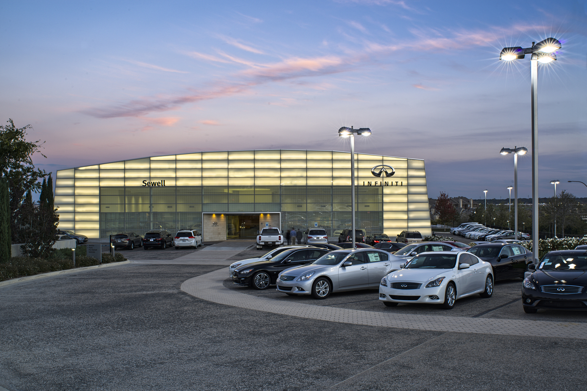 Sewell Infiniti Fort Worth >> New Work - Sewell Infiniti of Fort Worth - Images and ...