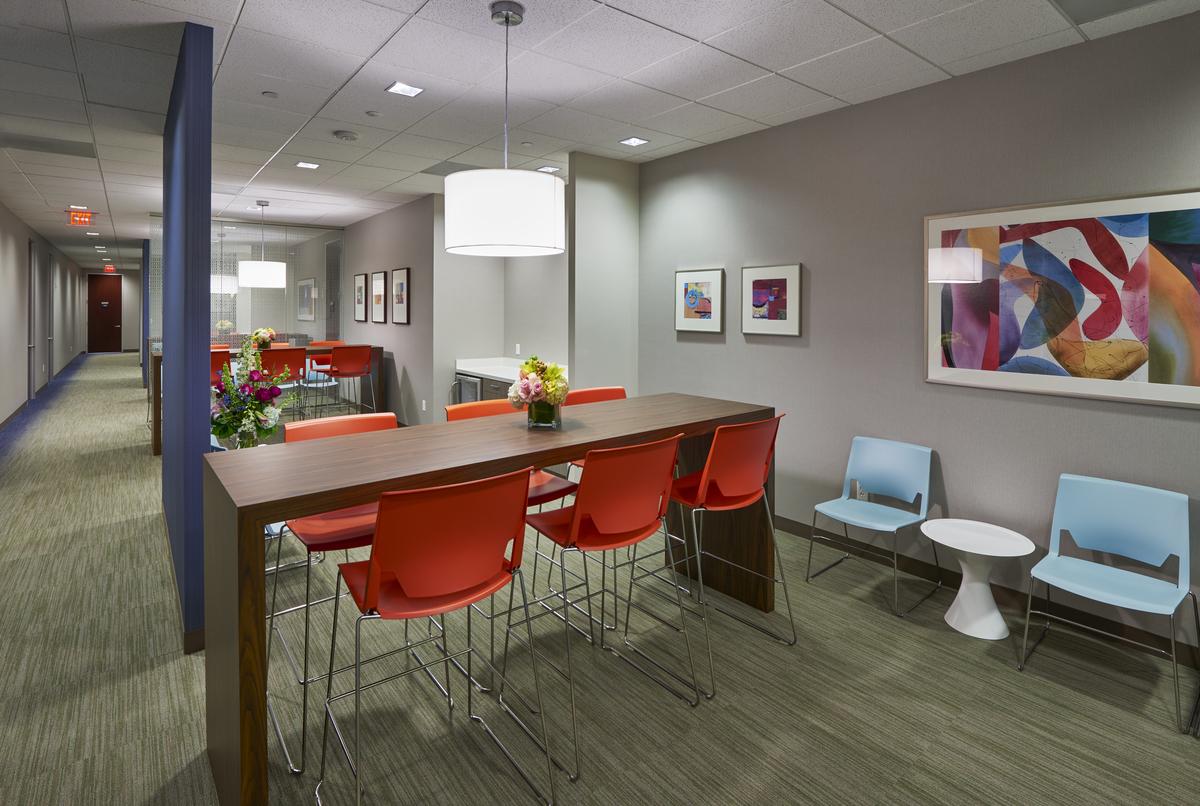 Schlesinger Associates Dallas office interiors