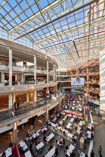 Fashion Center at Pentagon City, interior renovations by Omniplan Architects