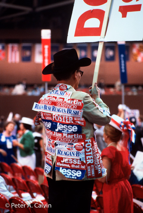 1984 Republican National Convention, Dallas, Texas, at the Dallas Convention Center
